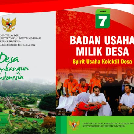 """Buku Saku """"BADAN USAHA MILIK DESA: Spirit Usaha Kolektif Desa""""."""